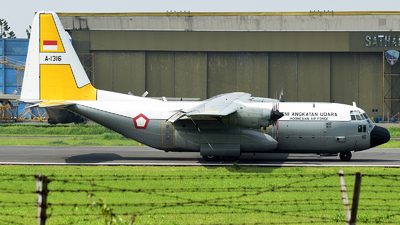 A-1316 - Lockheed C-130H Hercules - Indonesia - Air Force