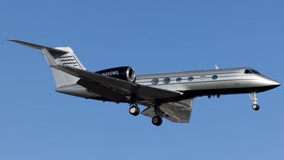 N495WG - Gulfstream G-IV(SP) - Private
