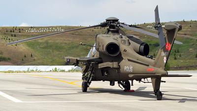 EM-101 - TAI T-129A ATAK - Turkey - Police