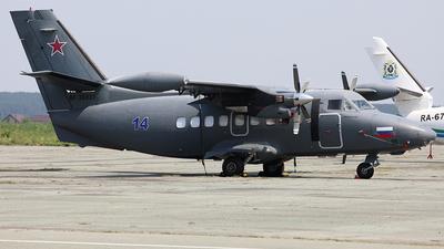 RF-36037 - Let L-410UVP-E20 Turbolet - Russia - Air Force