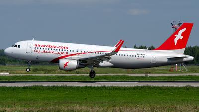 A picture of A6AOW - Airbus A320214 - Air Arabia - © OSDU