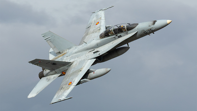 CE.15-12 - McDonnell Douglas EF-18BM Hornet - Spain - Air Force