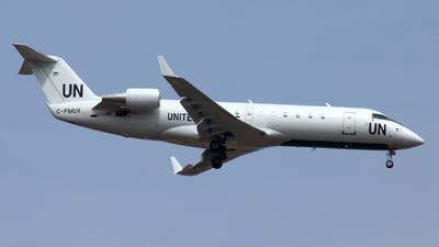 C-FMUV - Bombardier CRJ-200ER - United Nations (Voyageur Airways)
