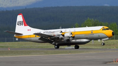 C-FDTH - Lockheed L-188A(F) Electra - Air Spray