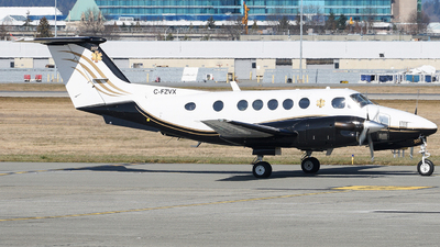 C-FZVX - Beechcraft B200 Super King Air - North Cariboo Air