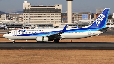 A picture of JA80AN - Boeing 737881 - All Nippon Airways - © Keitaro -Danadinho AviãoSpotter-