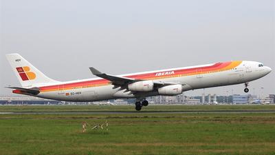 EC-HGV - Airbus A340-313X - Iberia