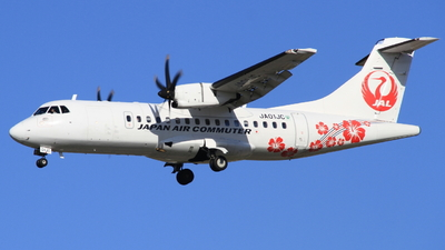 A picture of JA01JC - ATR 42600 - Japan Air Commuter - © S.Choby