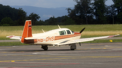 HB-DHS - Mooney M20J-201 - Private