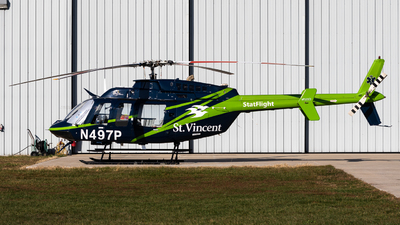 N497P - Bell 407 - PHI Air Medical