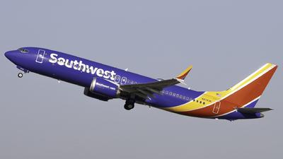 N8743K - Boeing 737-8 MAX - Southwest Airlines