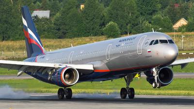 A picture of VPBAE - Airbus A321211 - Aeroflot - © Anna Timofeeva