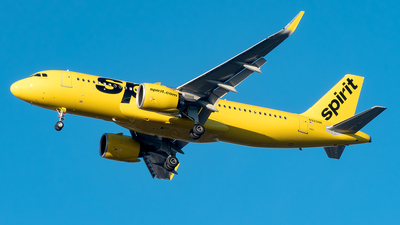 A picture of N920NK - Airbus A320271N - Spirit Airlines - © Yan777