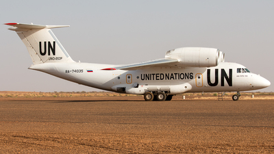 RA-74035 - Antonov An-74TK-100 - United Nations (UN)