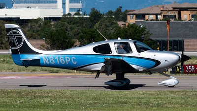 N816PC - Cirrus SR22T-GTS - Private