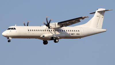 A picture of FWWEY - ATR 72600 - [] - © Alberto Cucini