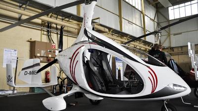 D-MMEP - AutoGyro Europe Calidus - Flugschule RheinMain