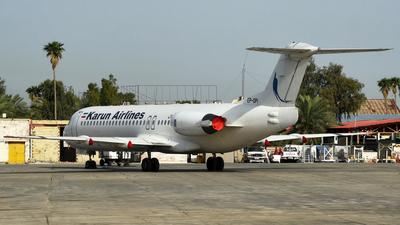 EP-OPI - Fokker 100 - Karun Airlines