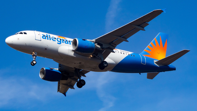 N327NV - Airbus A319-111 - Allegiant Air