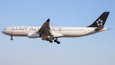 A picture of CGHLM - Airbus A330343 - Air Canada - © CurtisShao233