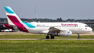 A picture of DAGWX - Airbus A319132 - Eurowings - © Steffen Müller