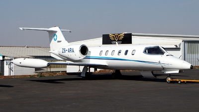 ZS-ARA - Gates Learjet 35A - Air Rescue Africa