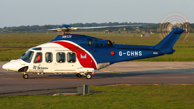 A picture of GCHNS - AgustaWestland AW139 - Bristow Helicopters - © Bradley Bygrave