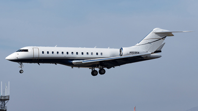 N829RA - Bombardier BD-700-1A10 Global Express - Private