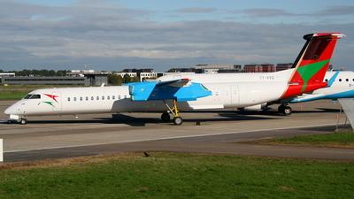 A picture of 5YVVO - De Havilland Canada Dash 8400 - Bluebird Aviation - © Robin Frosch