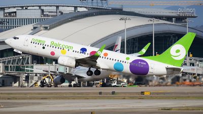 A picture of B6990 - Boeing 73786N - 9 Air - © ziyouzizai001