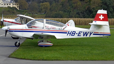 HB-EWY - Sportavia RS-180 Sportsman - Private