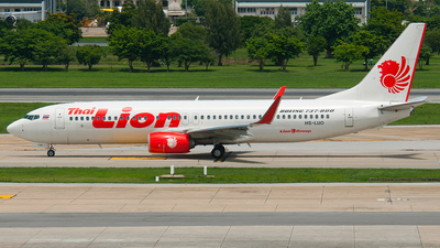 HS-LUO - Boeing 737-8GP - Thai Lion Air