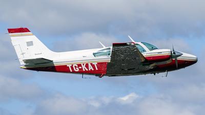 A picture of TGKAT - Beechcraft Baron 55 - [TC1077] - © Ariel Castillo Morales