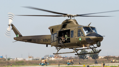 786-217 - Bell 412EP - Pakistan - Army Aviation