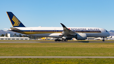 A picture of 9VSMN - Airbus A350941 - Singapore Airlines - © Cameron Matthews