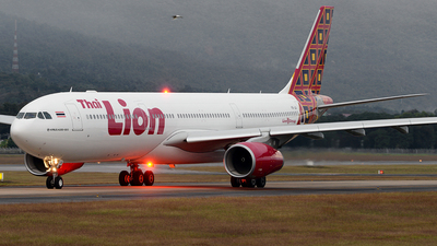 HS-LAI - Airbus A330-343 - Thai Lion Air