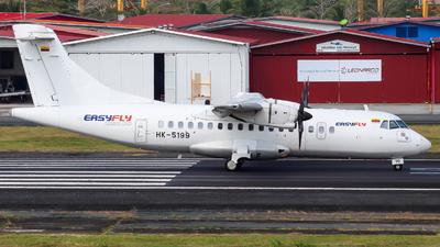 A picture of HK5199 - ATR 42500 - EasyFly - © Alexis Navarro