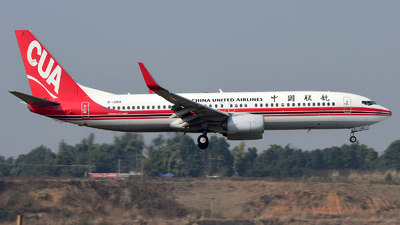 B-1280 - Boeing 737-89P - China United Airlines