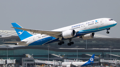 A picture of B2769 - Boeing 7878 Dreamliner - Xiamen Air - © Jeppesen_Tu