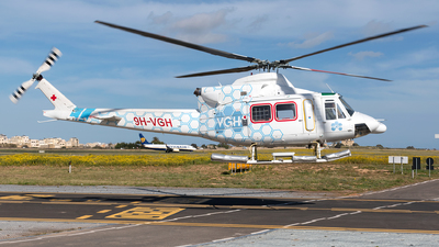 9H-VGH - Bell 412EP - Gulf Med Aviation Services