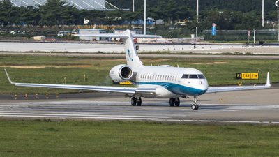 B-8197 - Bombardier BD-700-1A10 Global 6000 - Private
