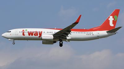 HL8379 - Boeing 737-85R - T'Way Air