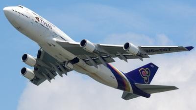 A picture of HSTGT - Boeing 7474D7 - [26616] - © Akira Kurioka