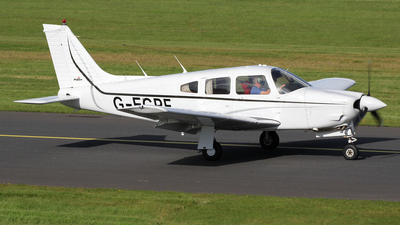 G-EGPF - Piper PA-28R-201 Cherokee Arrow III - Private