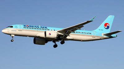 HL7201 - Bombardier CSeries CS300 - Korean Air