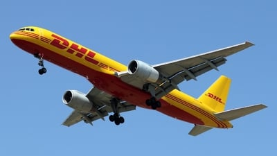 A picture of DALET - Boeing 75728A(PCF) - DHL - © ikeharel