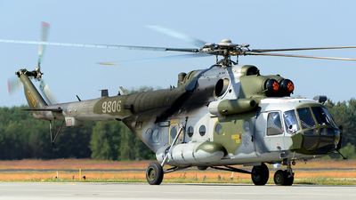 9806 - Mil Mi-171Sh Baikal - Czech Republic - Air Force