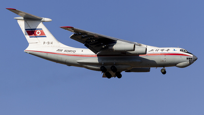 P-914 - Ilyushin IL-76MD - Air Koryo