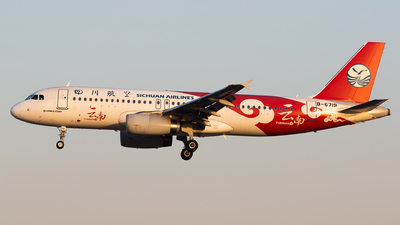 A picture of B6719 - Airbus A320232 - Sichuan Airlines - © Sebastian Shen