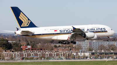 A picture of 9VSKM - Airbus A380841 - Singapore Airlines - © Airlinergeek